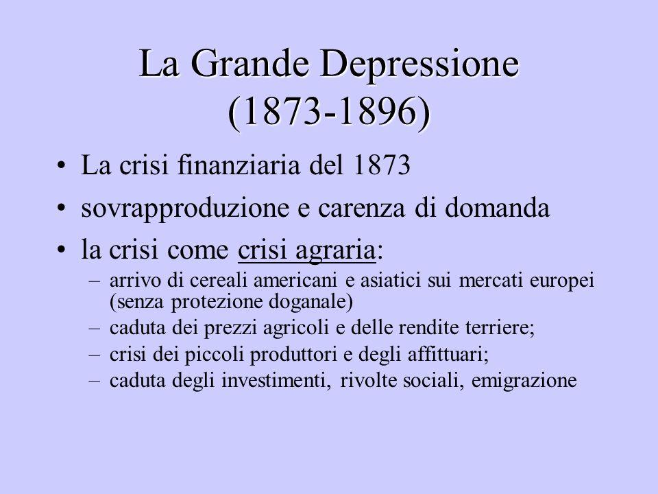 La Grande Depressione (1873-1896)