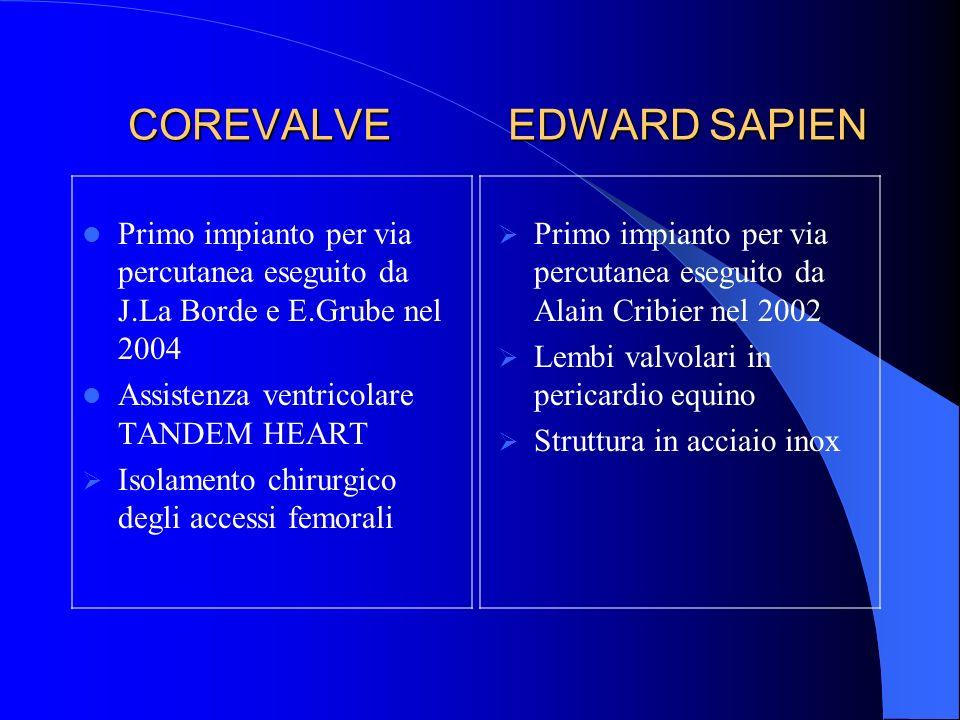 COREVALVE EDWARD SAPIEN
