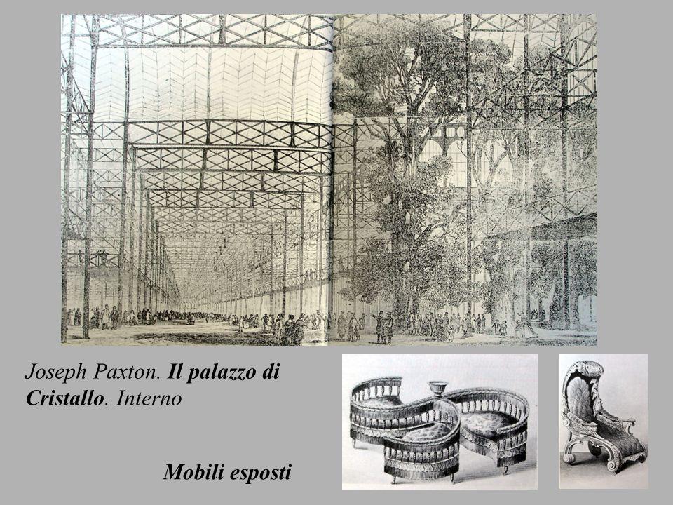 Joseph Paxton. Il palazzo di
