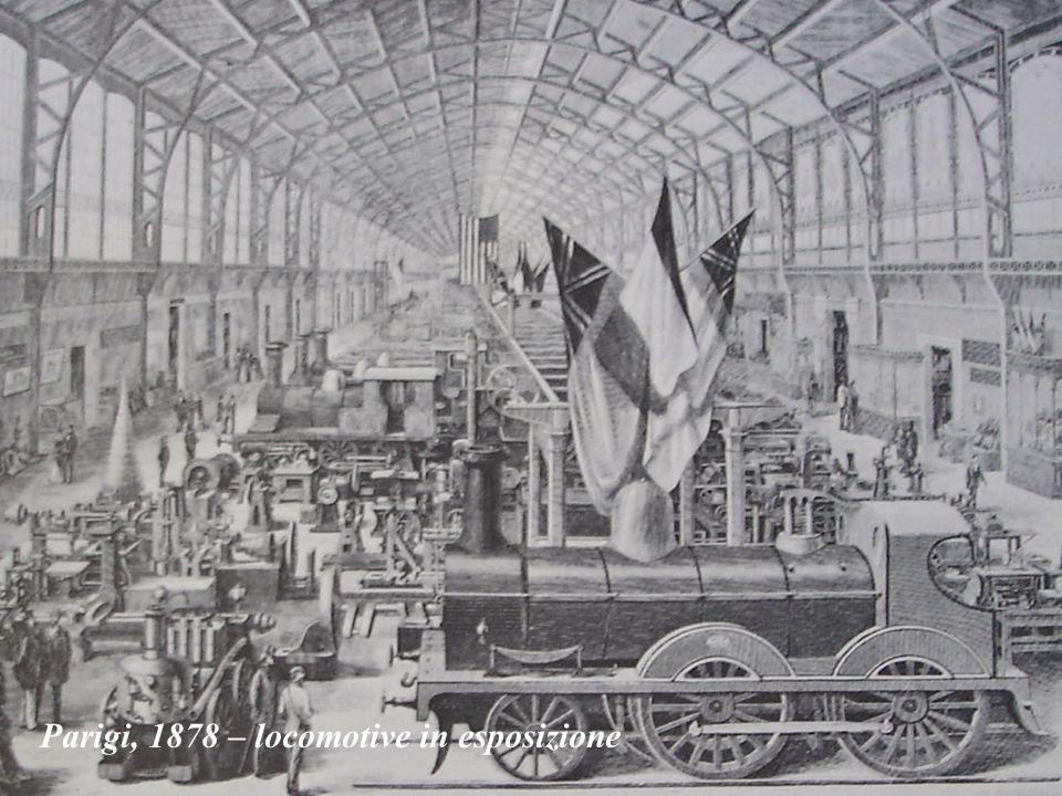 Parigi, 1878 – locomotive in esposizione