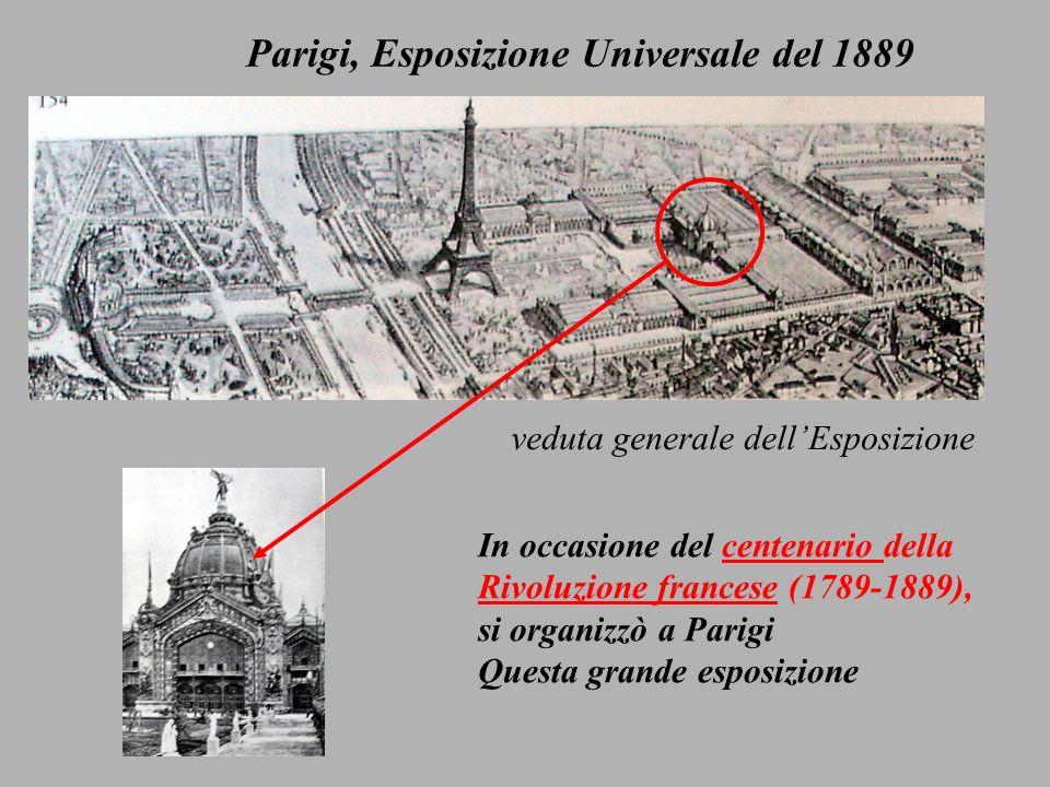 Parigi, Esposizione Universale del 1889
