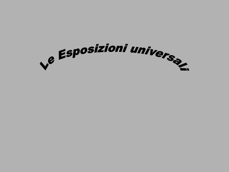 Le Esposizioni universali
