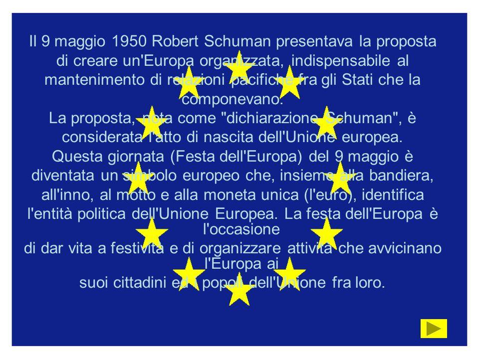 Il 9 maggio 1950 Robert Schuman presentava la proposta