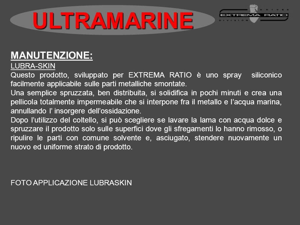 ULTRAMARINE MANUTENZIONE: LUBRA-SKIN