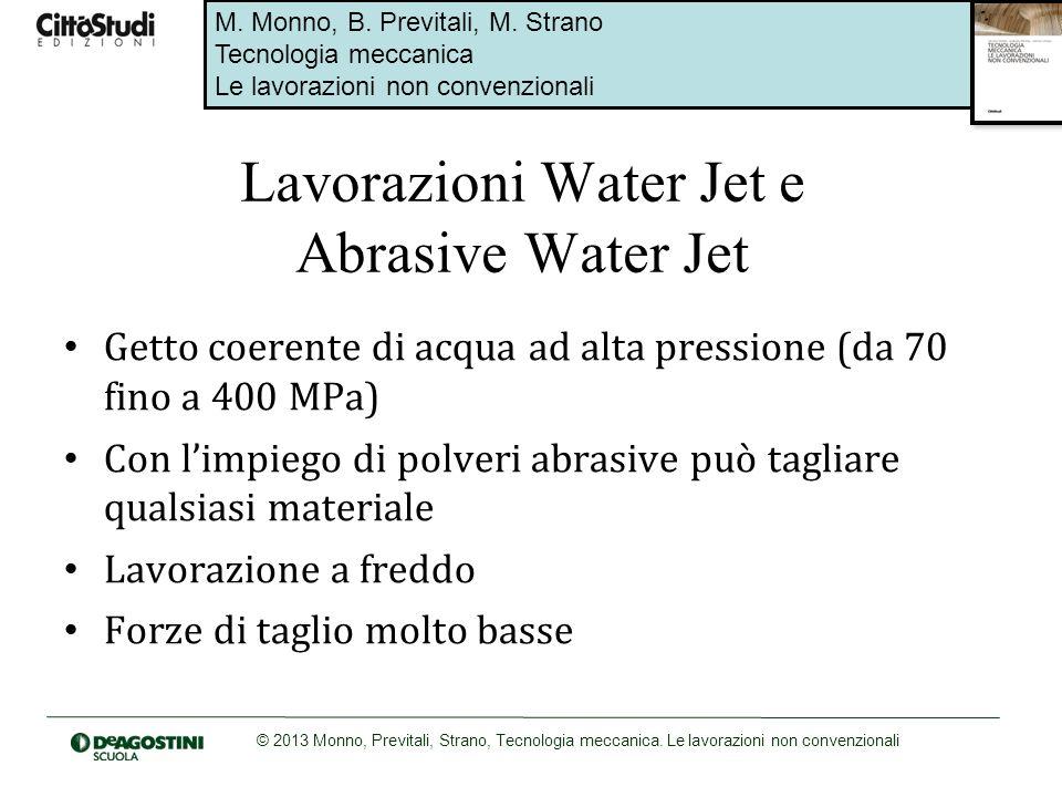 Lavorazioni Water Jet e Abrasive Water Jet