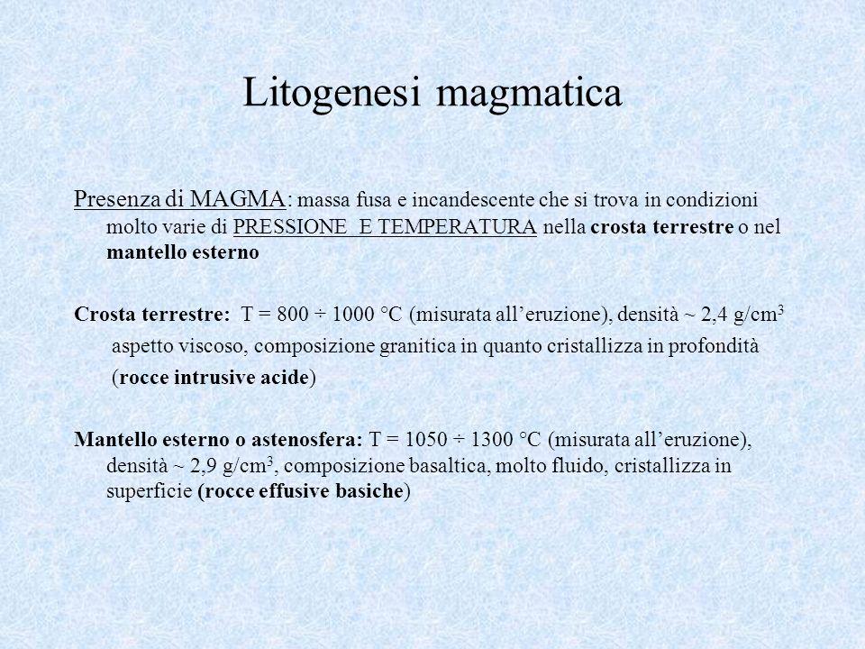 Litogenesi magmatica