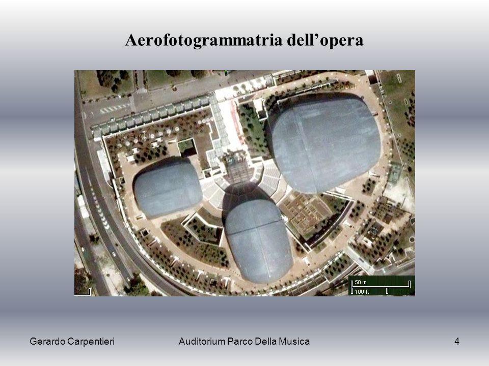 Aerofotogrammatria dell'opera