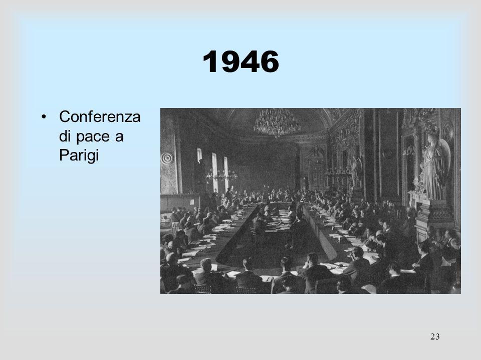 1946 Conferenza di pace a Parigi