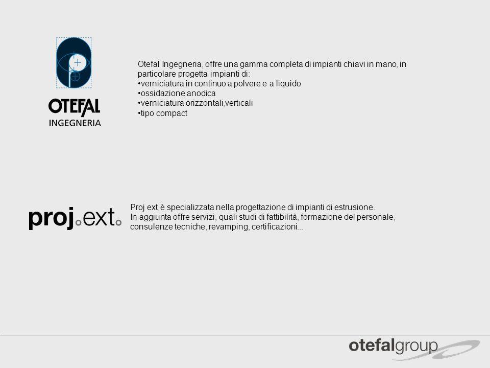 Otefal Ingegneria, offre una gamma completa di impianti chiavi in mano, in particolare progetta impianti di: