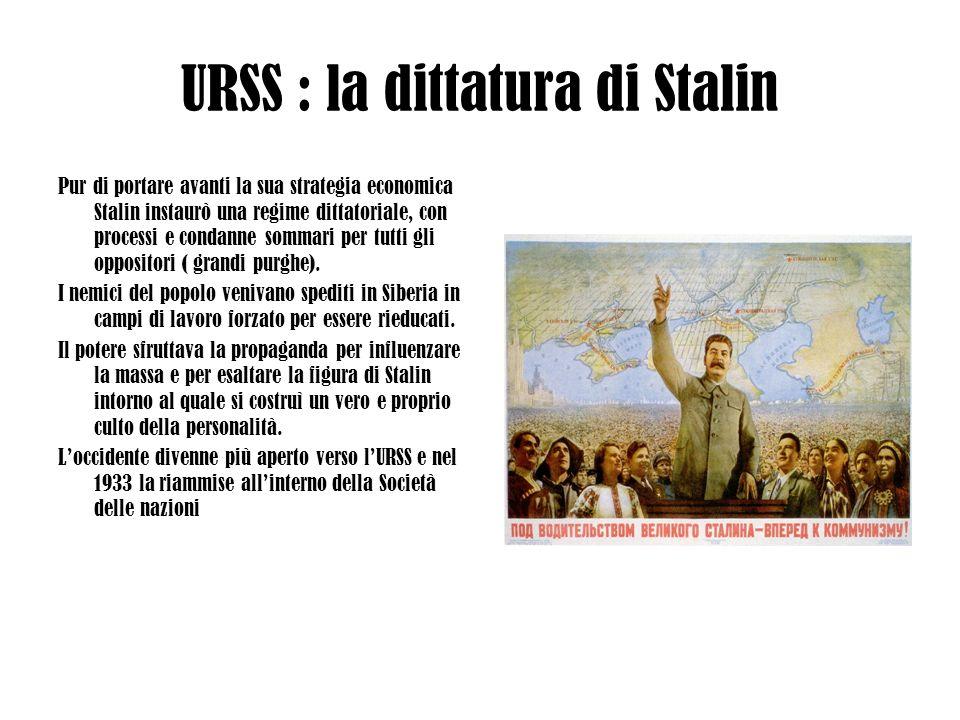 URSS : la dittatura di Stalin