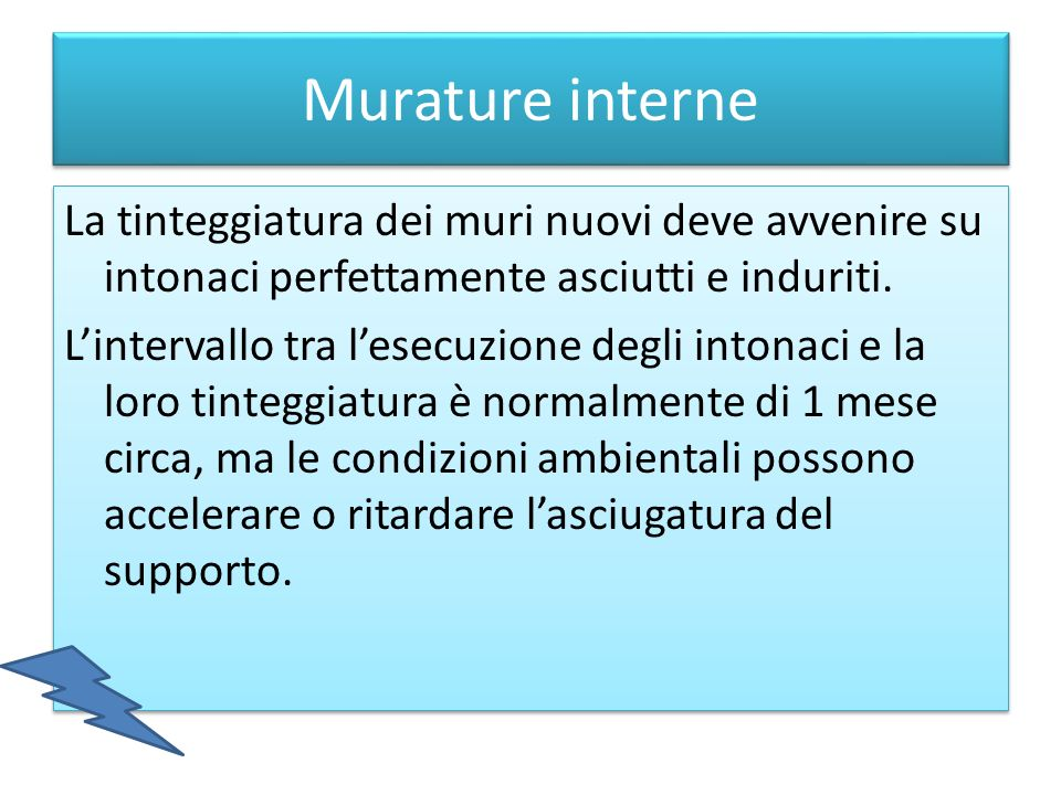 Murature interne