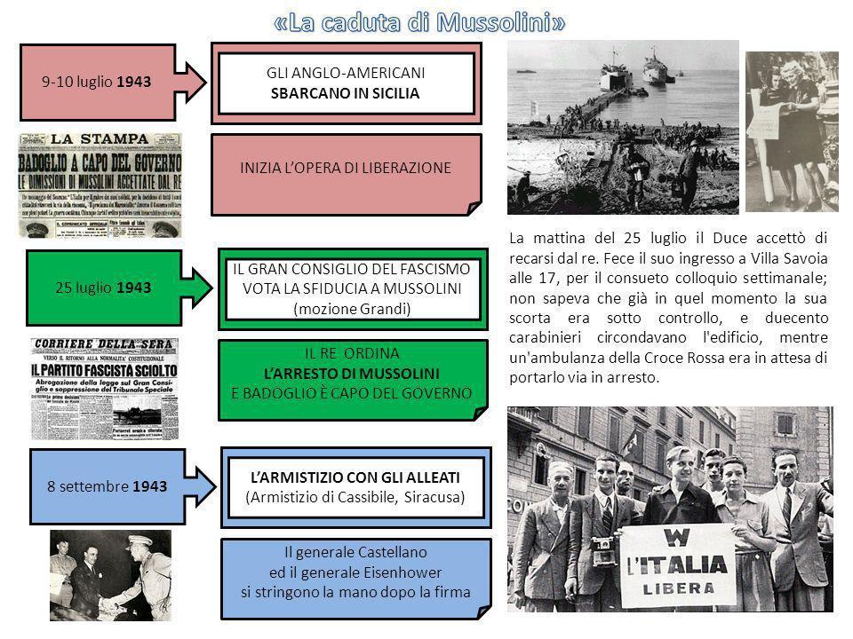 «La caduta di Mussolini»