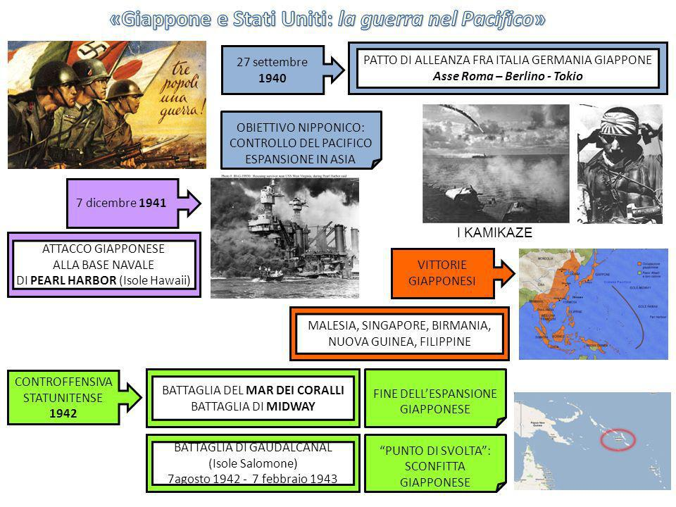 «Giappone e Stati Uniti: la guerra nel Pacifico»