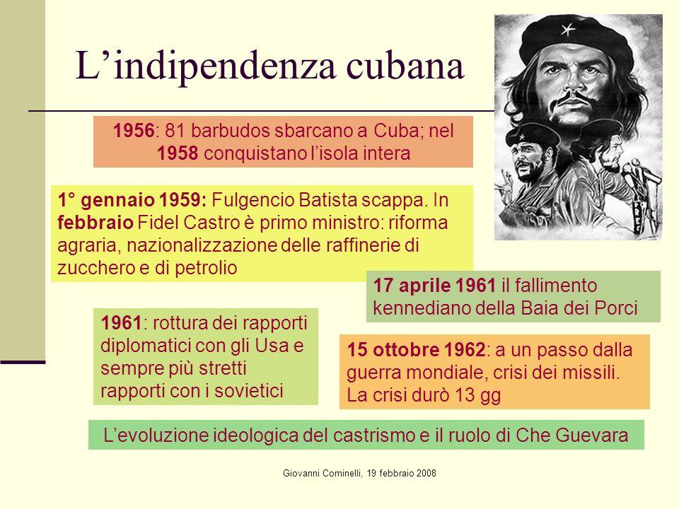 L'indipendenza cubana