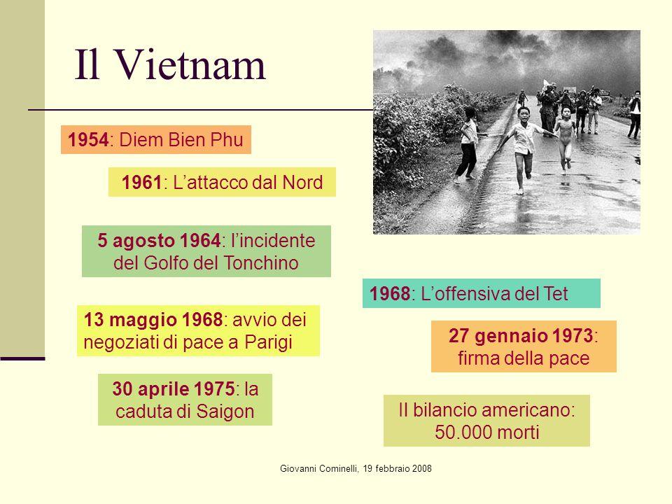 Il Vietnam 1954: Diem Bien Phu 1961: L'attacco dal Nord