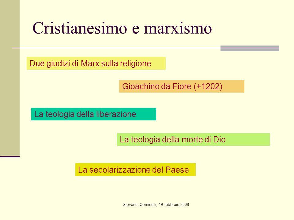 Cristianesimo e marxismo