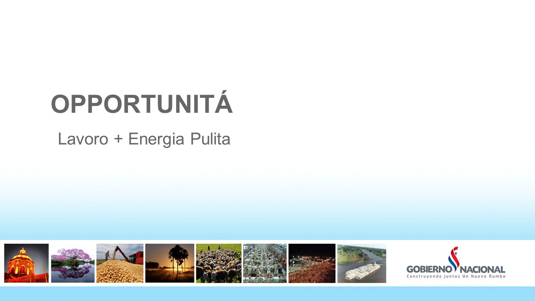 1414 OPPORTUNITÁ Lavoro + Energia Pulita 14