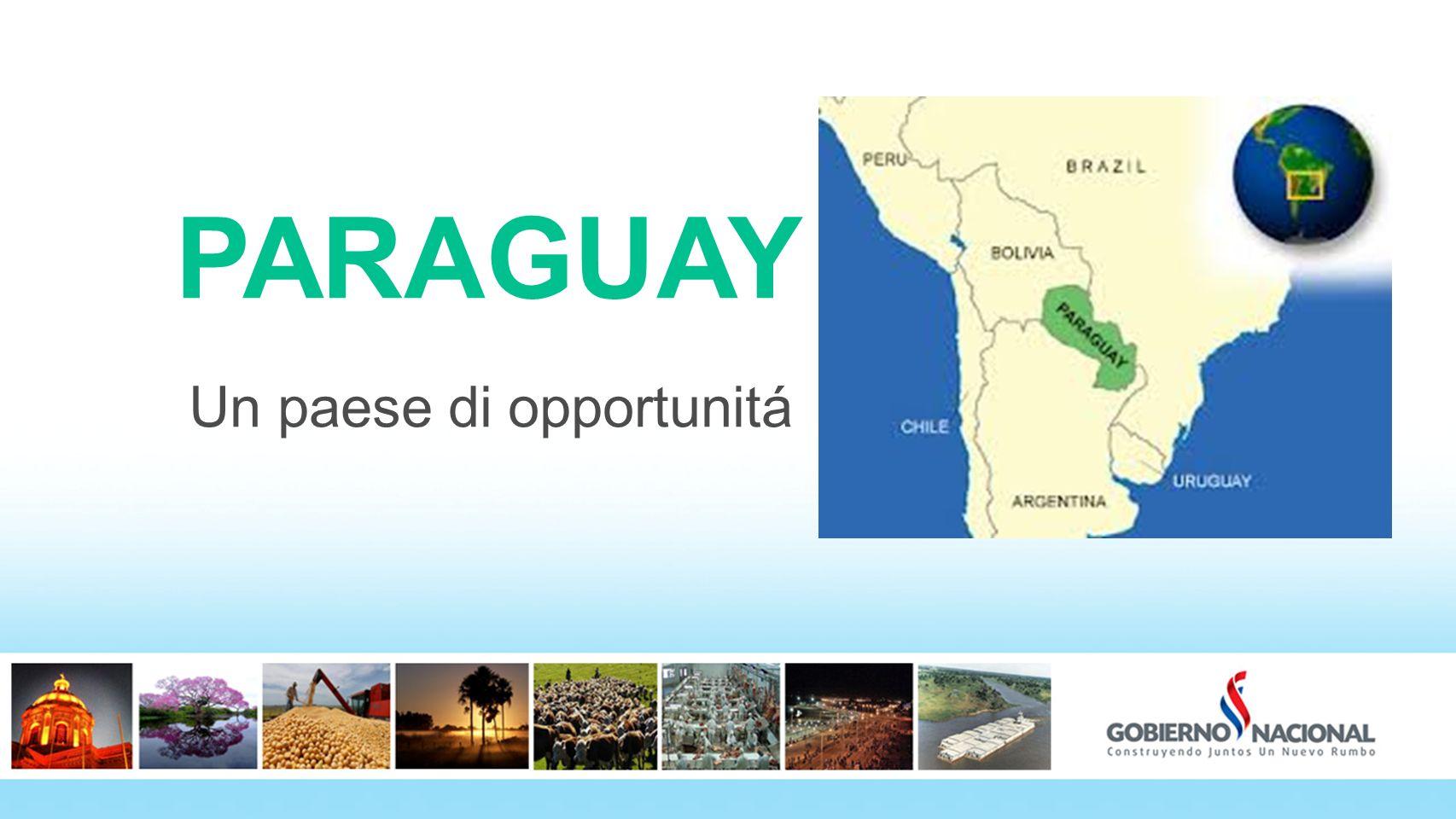 2 PARAGUAY Un paese di opportunitá 2 2