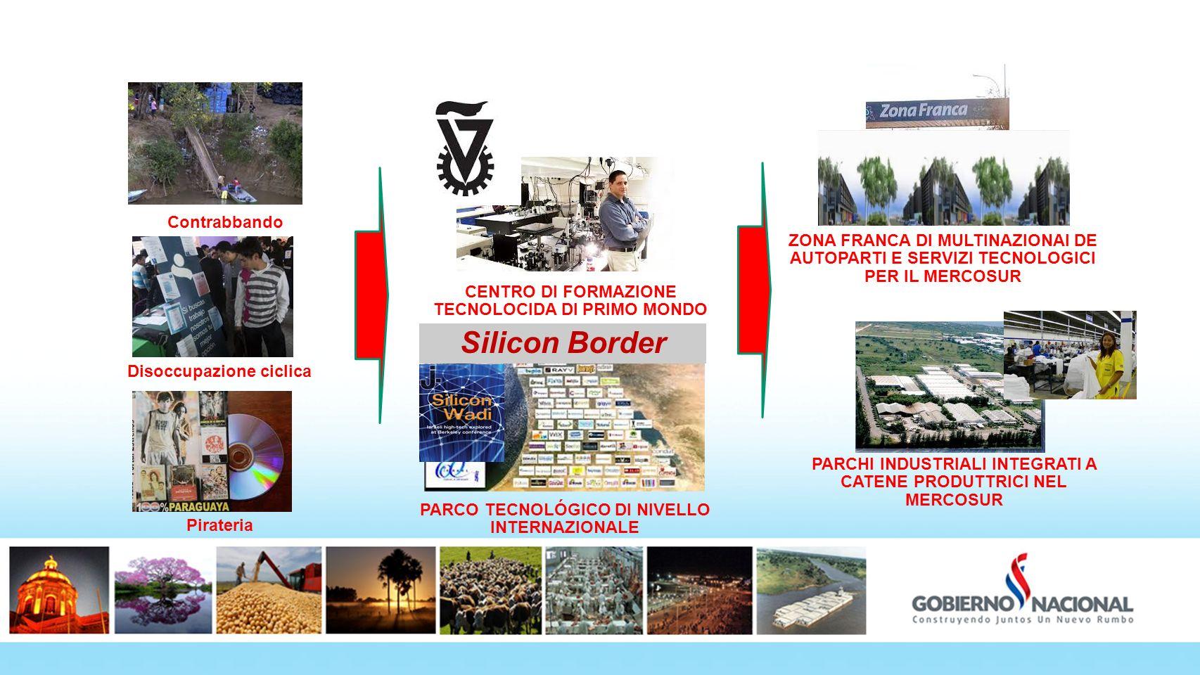 Fronteras 180º Silicon Border Contrabbando