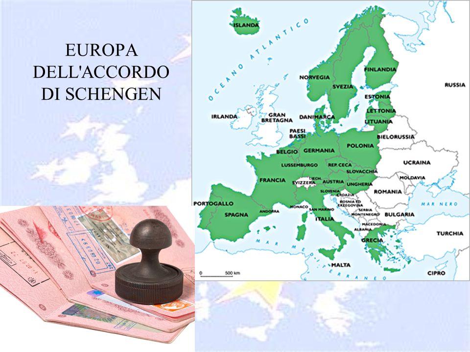 EUROPA DELL ACCORDO DI SCHENGEN