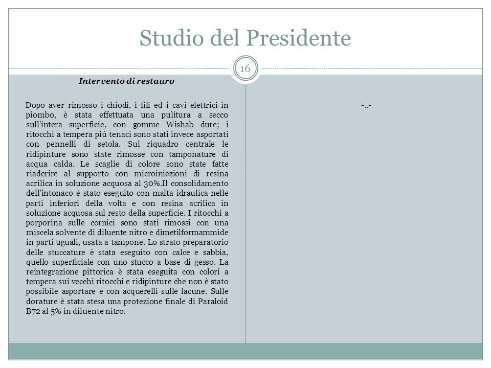 Studio del Presidente