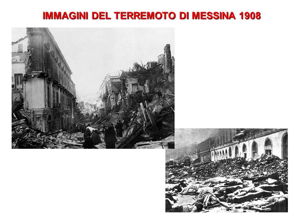 IMMAGINI DEL TERREMOTO DI MESSINA 1908
