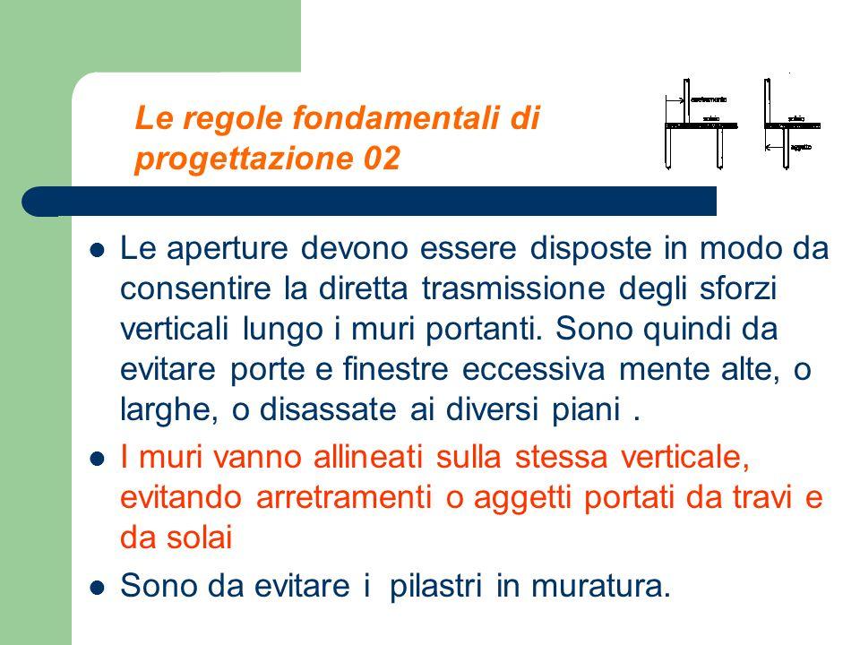 Le regole fondamentali di progettazione 02