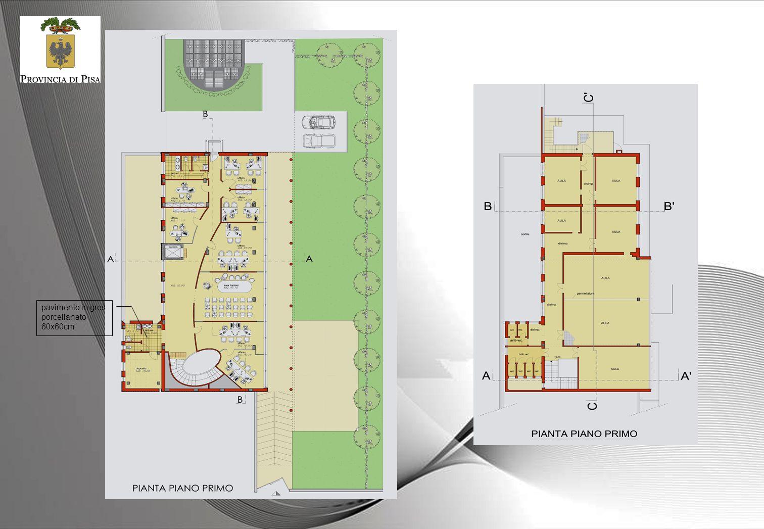 pavimento in gres porcellanato 60x60cm