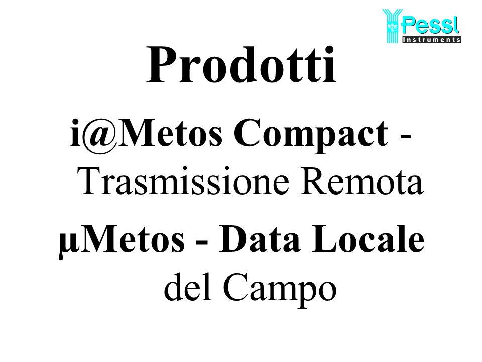 Prodotti i@Metos Compact - Trasmissione Remota