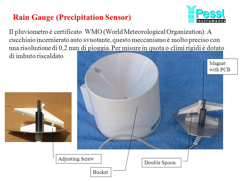 Rain Gauge (Precipitation Sensor)