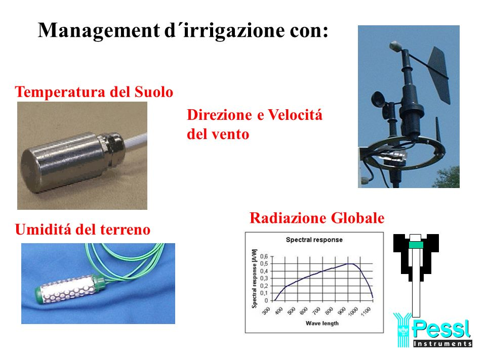 Management d´irrigazione con: