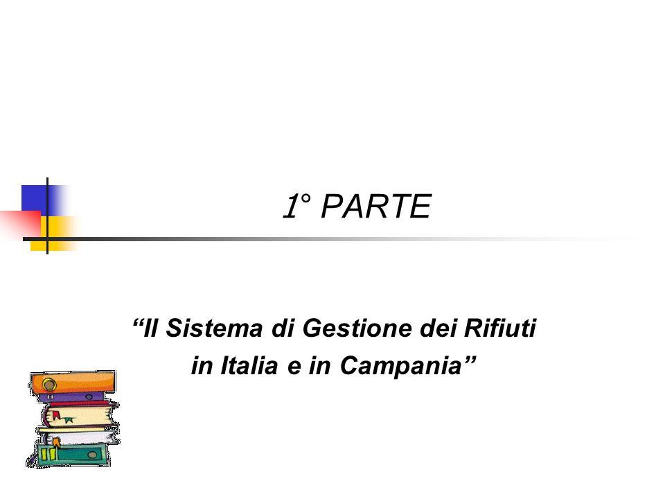 Il Sistema di Gestione dei Rifiuti in Italia e in Campania