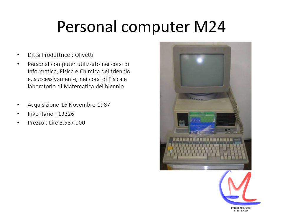 Personal computer M24 Ditta Produttrice : Olivetti