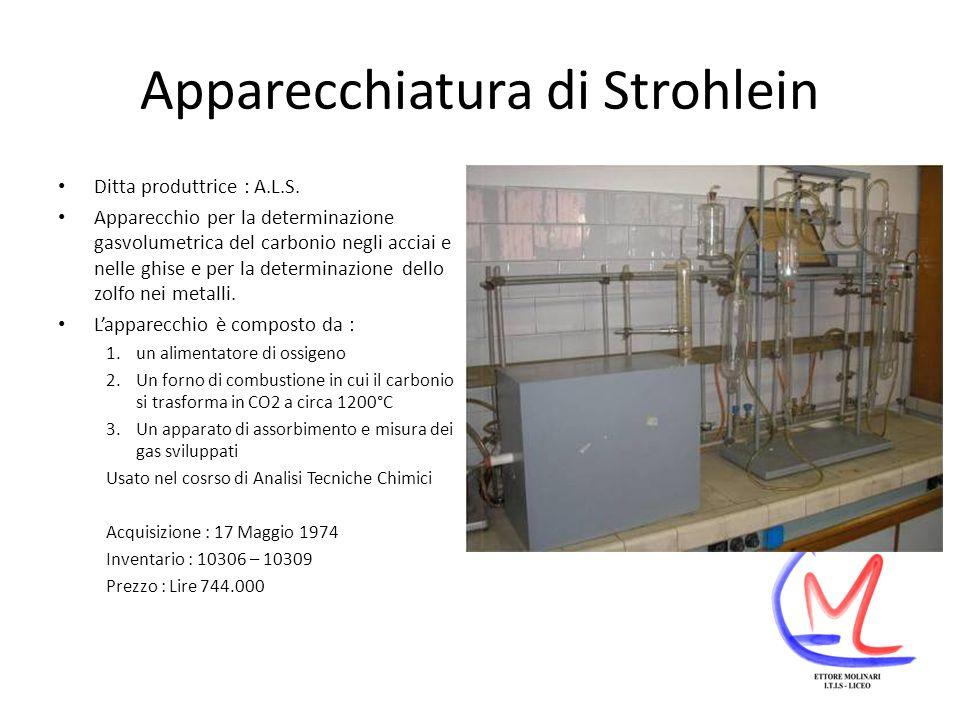 Apparecchiatura di Strohlein