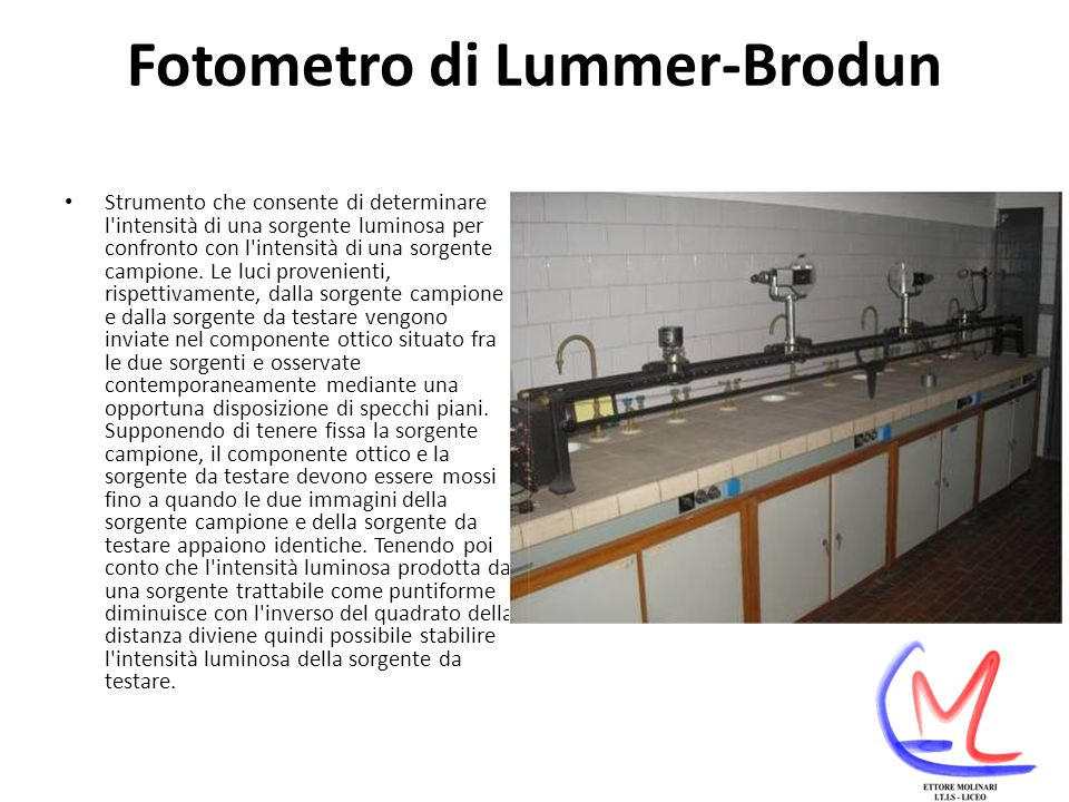 Fotometro di Lummer-Brodun