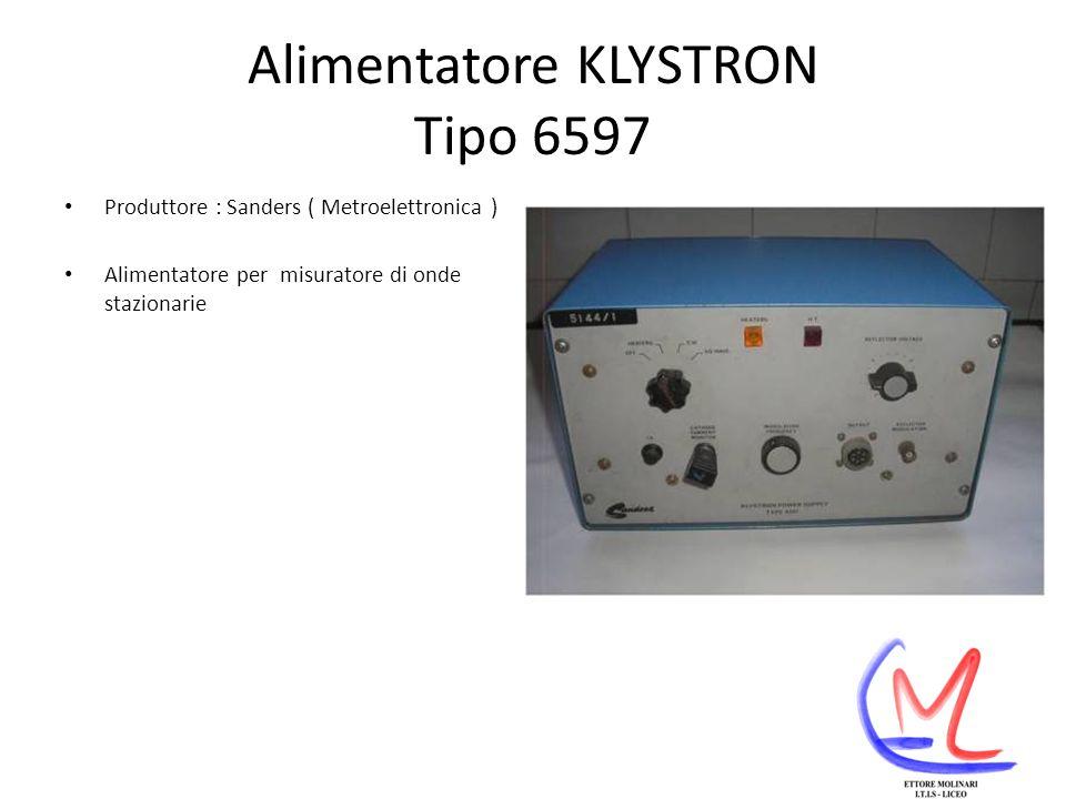 Alimentatore KLYSTRON Tipo 6597