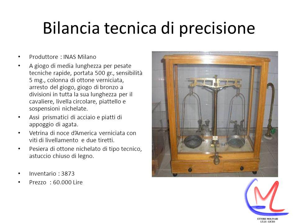 Bilancia tecnica di precisione