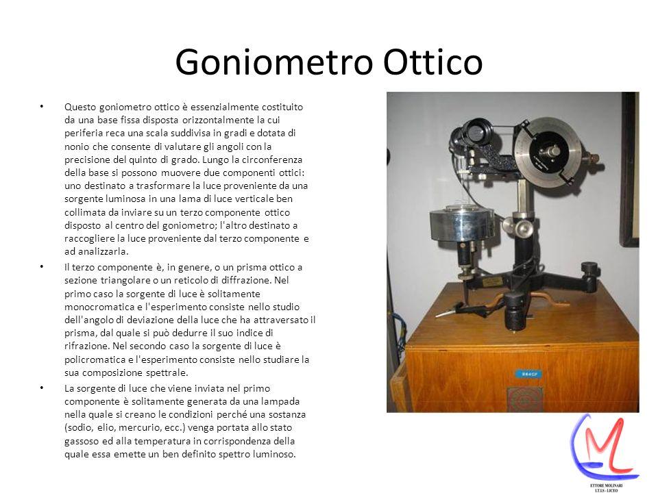 Goniometro Ottico