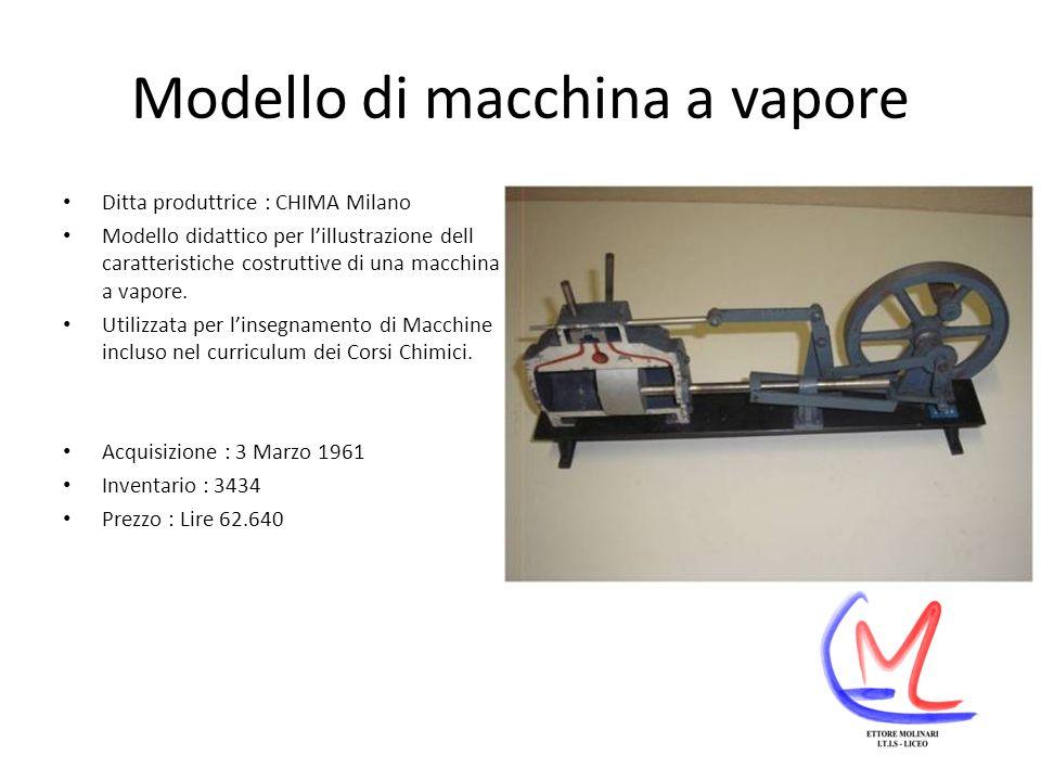 Modello di macchina a vapore
