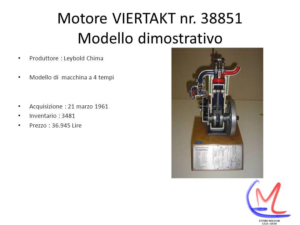 Motore VIERTAKT nr. 38851 Modello dimostrativo