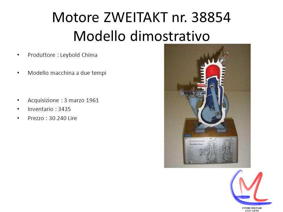 Motore ZWEITAKT nr. 38854 Modello dimostrativo