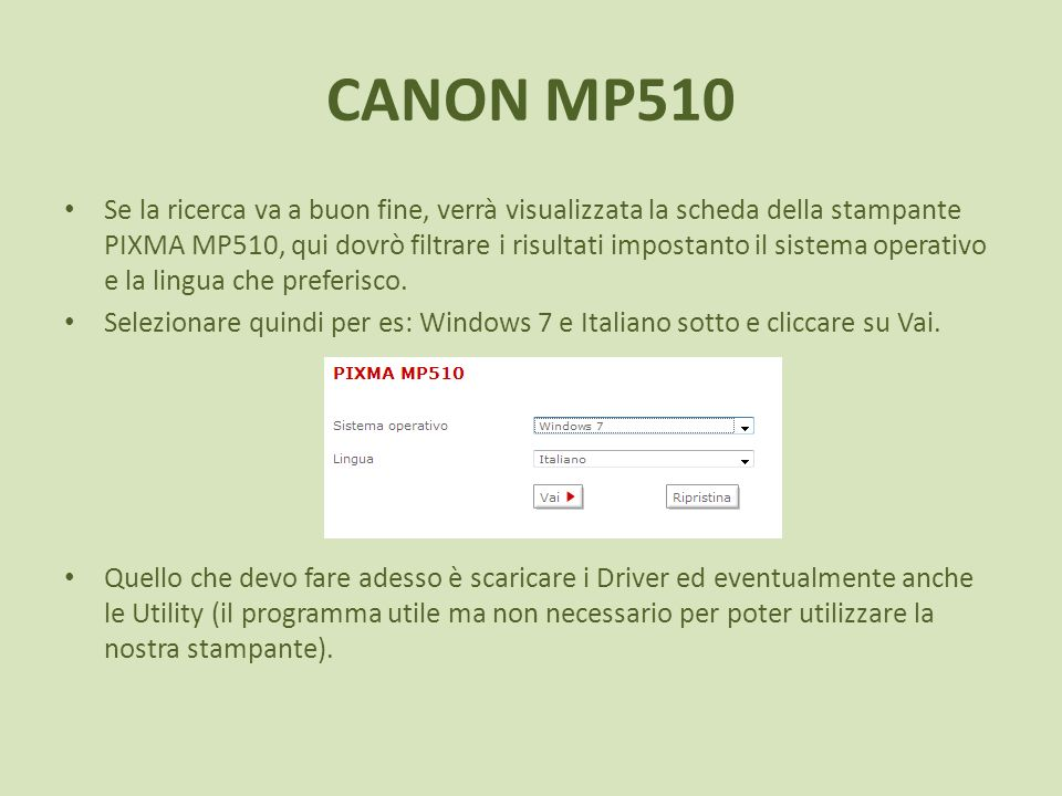 CANON MP510
