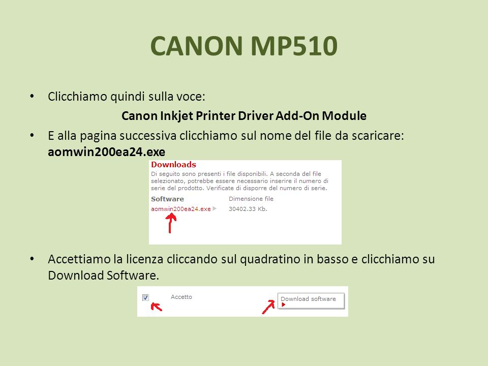Canon Inkjet Printer Driver Add-On Module