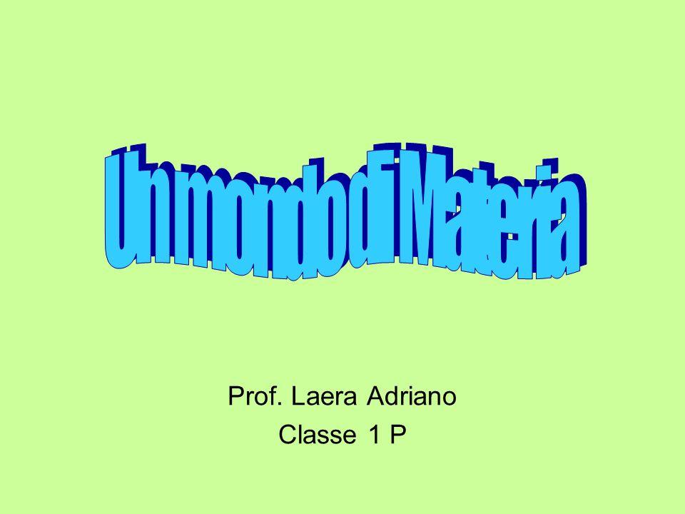 Prof. Laera Adriano Classe 1 P