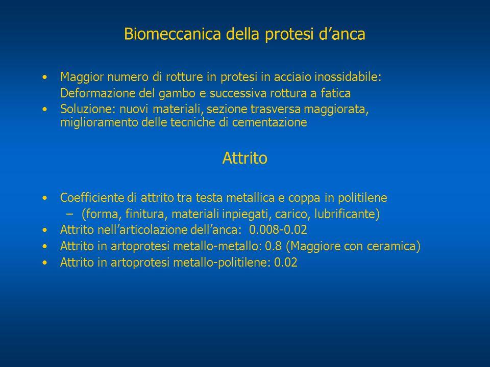 Biomeccanica della protesi d'anca