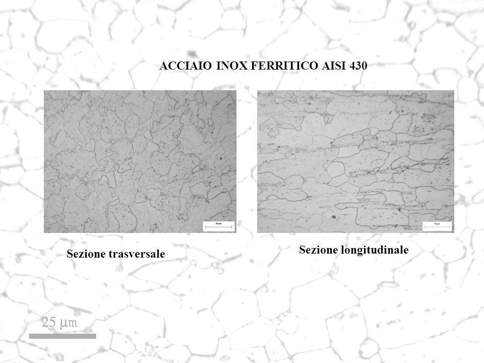 ACCIAIO INOX FERRITICO AISI 430