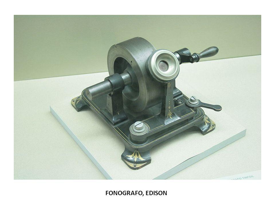 FONOGRAFO, EDISON