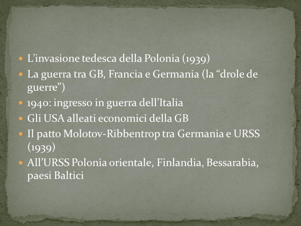 L'invasione tedesca della Polonia (1939)