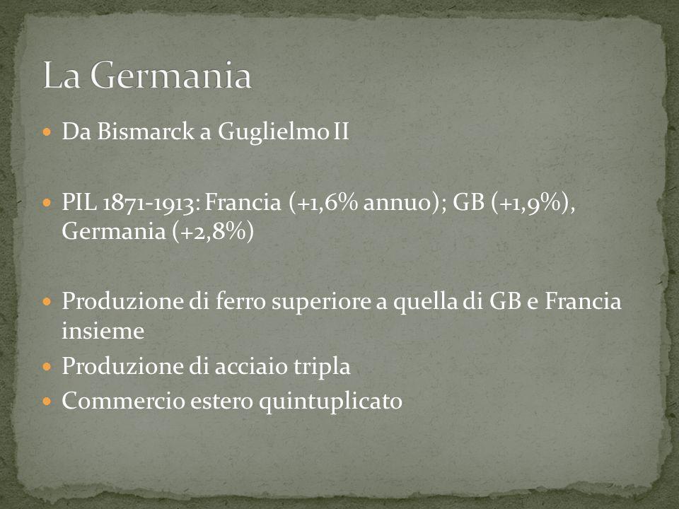 La Germania Da Bismarck a Guglielmo II