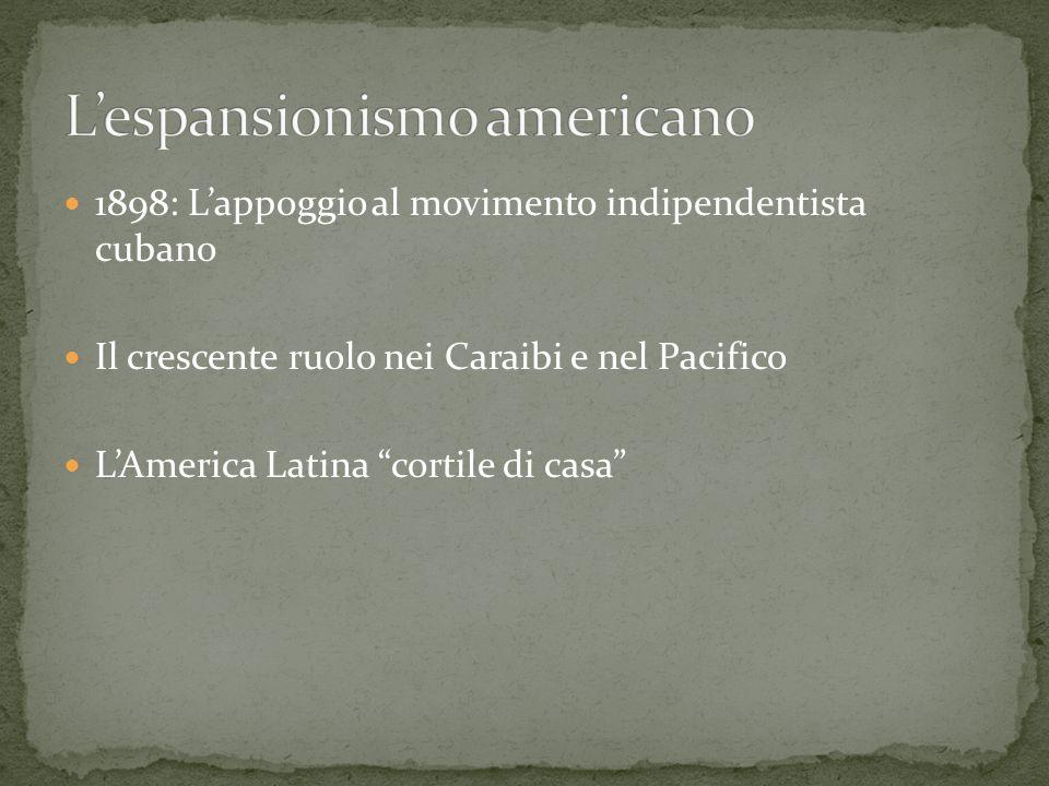 L'espansionismo americano